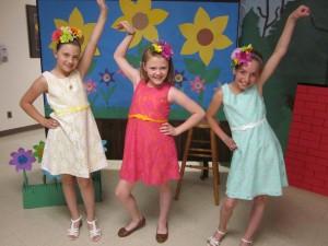 Our little dancing queens!